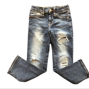 Old Navy Boys Karate Slim distressed jeans size 6
